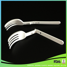 L128mm New Product Disposable Plastic Fork For Cake