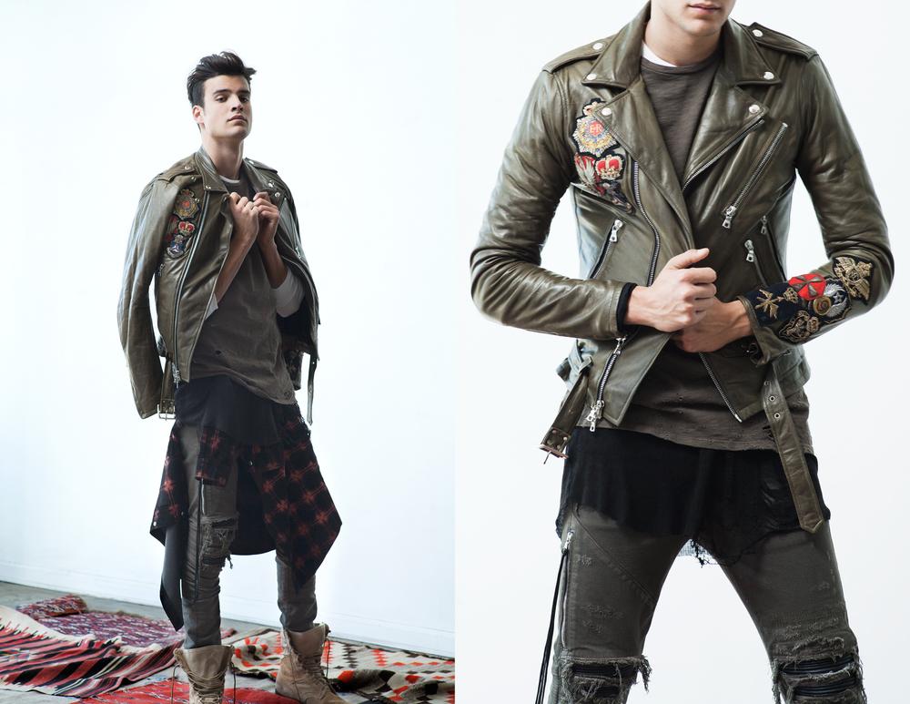 New Design Man Vintage Distressed Denim Biker Jeans Pants For Man ...