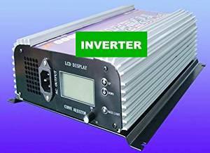GOWE 1kw /1000w grid tie inverter with LED display input DC22v-60v output.AC190V-260V