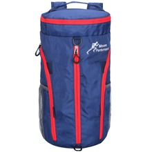 Fashionable small waterproof fold packable nylon sport duffle bags for gym