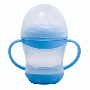 Amazon hot sales Baby Products Supplier 100% Food Grade Silicon Rubber Replacement Spout Nipple Training Sippy Cup with spout