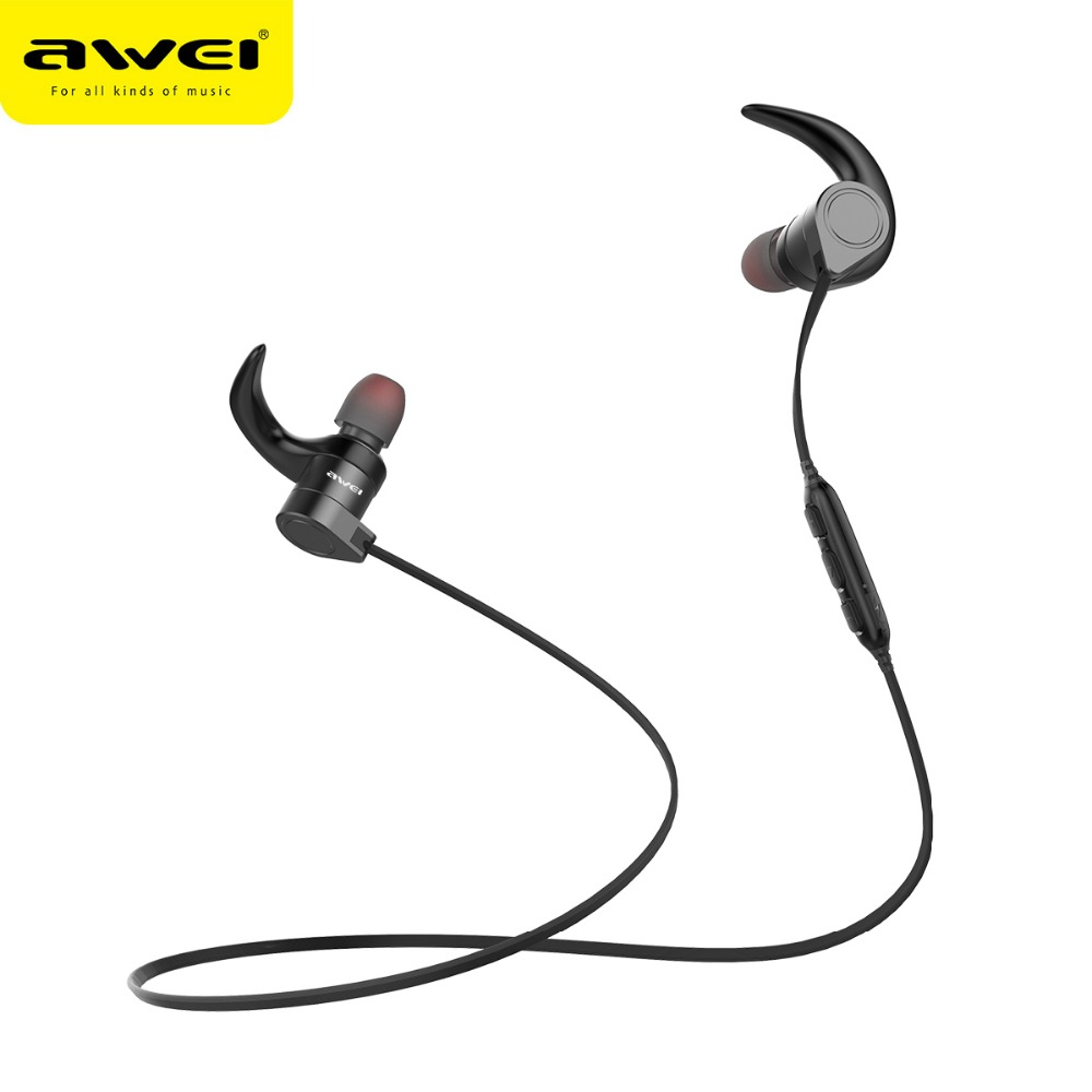 2018 mobile phone accessories professional factory 130mAh AWEI AK3 earphone <strong>bluetooth</strong>