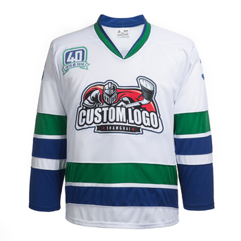 b15ea0a9b1a Sublimation Gum Patch And Sewn Vancouver Canucks Hockey Jersey Custom