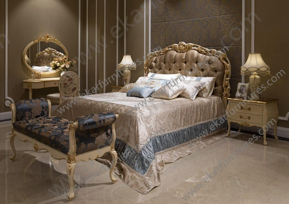 Royal Bedroom Furniture Luxury Bedding King Size Style Bedroom