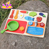 2017 Simulation children wooden fruit toy,DIY baby wooden fruit toy,role play kids wooden fruit toy W10B187