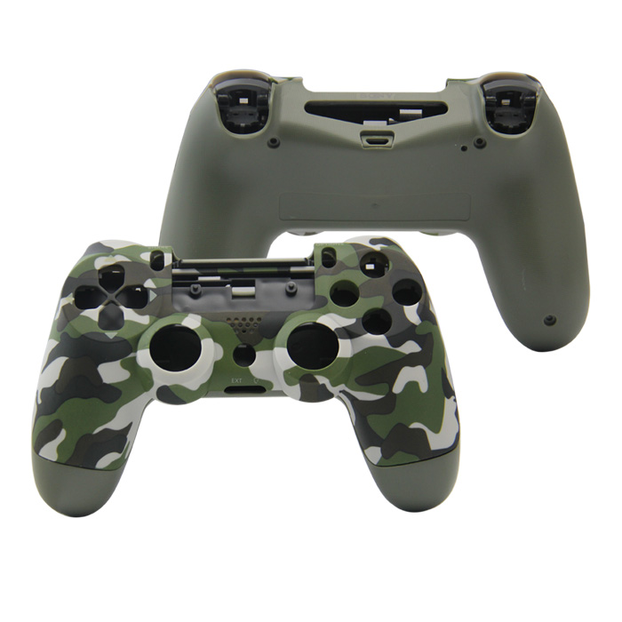 Best Price Camouflage Green Color Full  Set Shell case for Ps4 Slim