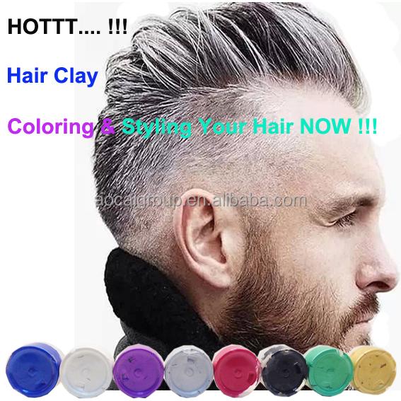 argent gris homme usage cheveux couleur argile produits coiffants id de produit 60381310922. Black Bedroom Furniture Sets. Home Design Ideas
