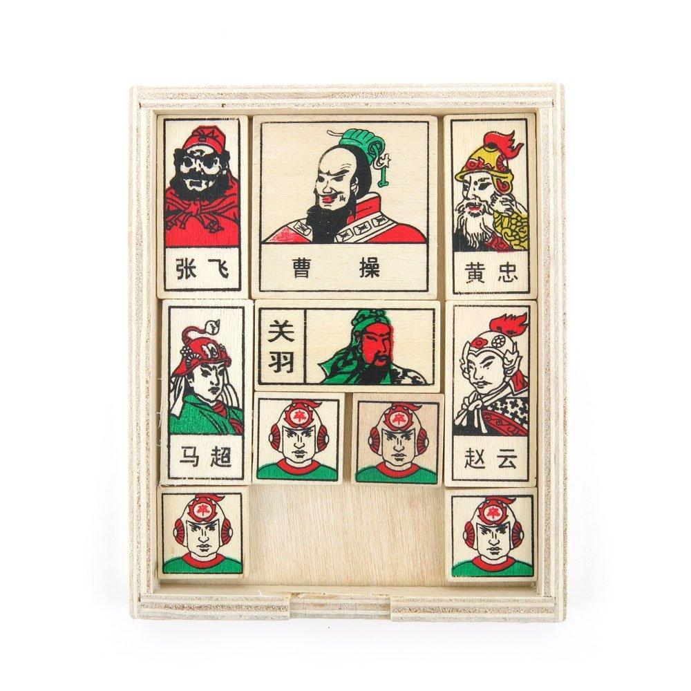 2 PCS Toys Brainteaser Disentanglement Logic IQ Teaser Educational Puzzle Game SY1272 Historical Figures
