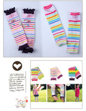 baby products baby socks cotton plain lace fashion baby leg warmers