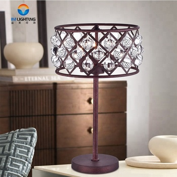 Excellent quality fancy contemporary crystal table lamp lamps