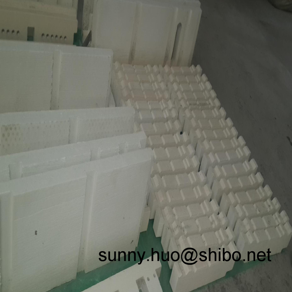 high insulation thermal 1600C 1700C 1800C alumina ceramic fiber board for klin