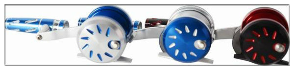 Colourful 5:1 KARASU CNC carbon fiber washer overhead trolling reel(S400B)