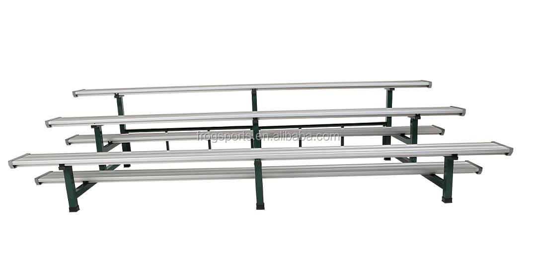 3 rows Aluminium Bleachers