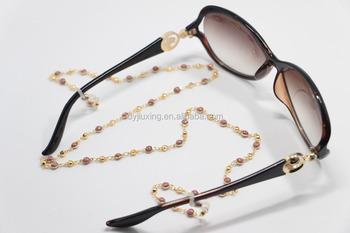 35f4606eef7181 Élégantes Cordes Pour Lunettes De Soleil En Métal Chaîne De Lunettes  lunettes corde chaîne ...