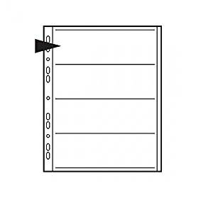 Kenro Negative File Pages 120 Acetate Pack 100 [KNF16]
