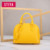2018 Fashion design women Pear-shaped genuine leather handbags crossbody bags