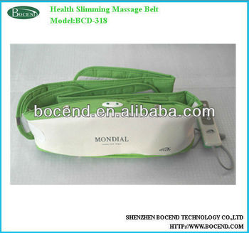 Health vibration slimming massager belt for losing weight/fitness BCD-318