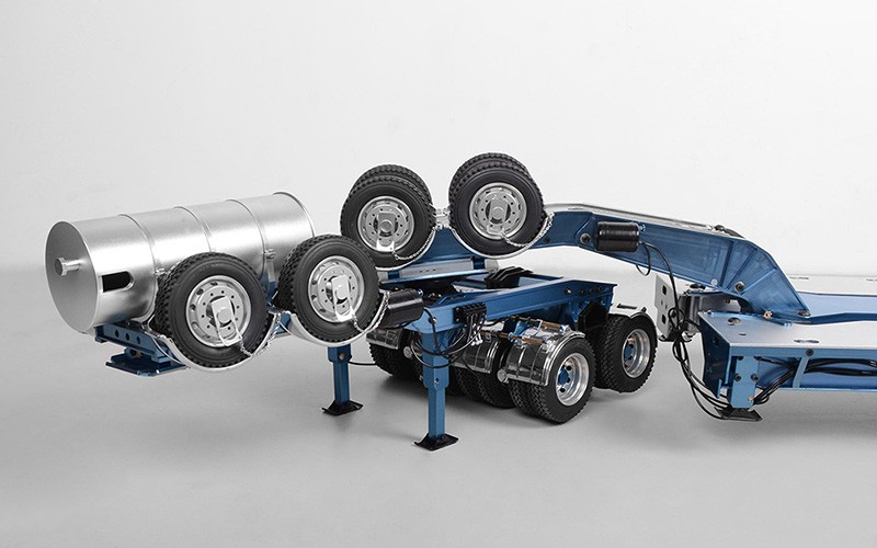 Swing-wing 3x8 Widening Semi Trailer And 2x8 Widening Dolly