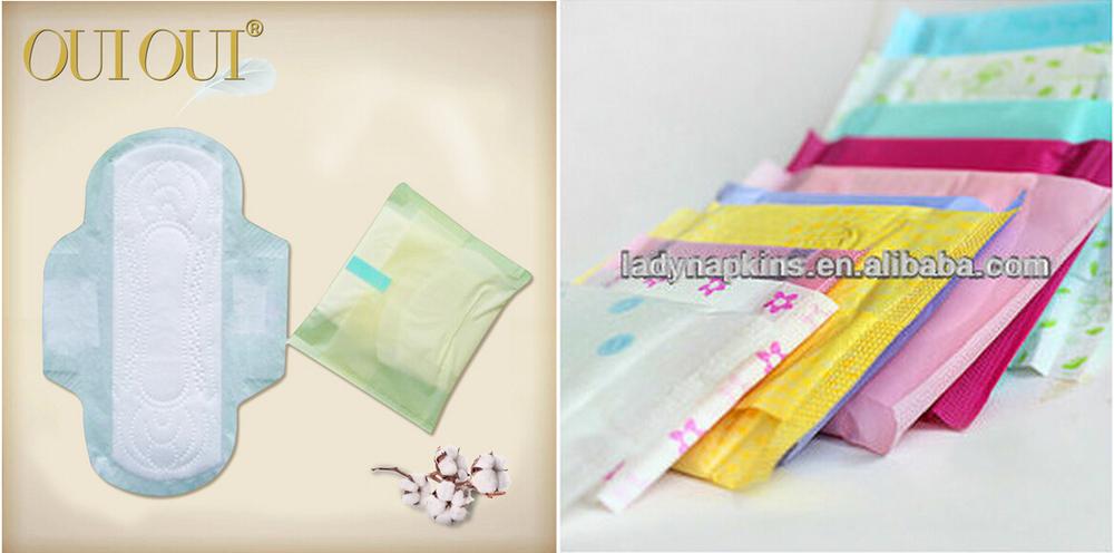 Customized Brand Lady Anion Sanitary Napkin