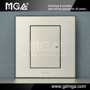 1 gang 3 way switch with LED Indicator / intermedia switch
