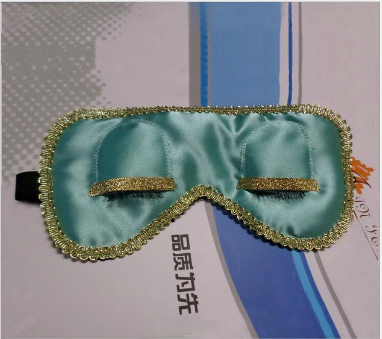 2017 Lace Satin Sexy Eye Mask with Embroidery Design
