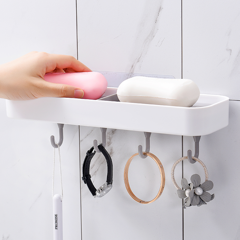 OEM Bathroom Kitchen Use With Hooks draining eco friendly hanging soap dish