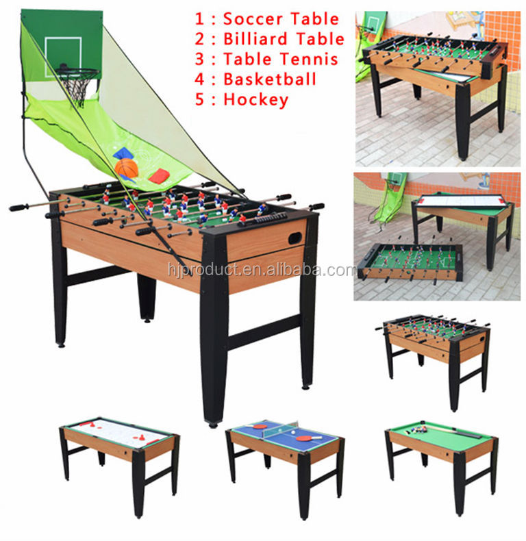 Marvelous ... High Quality 5 In 1 Multi Game Tables For Kids