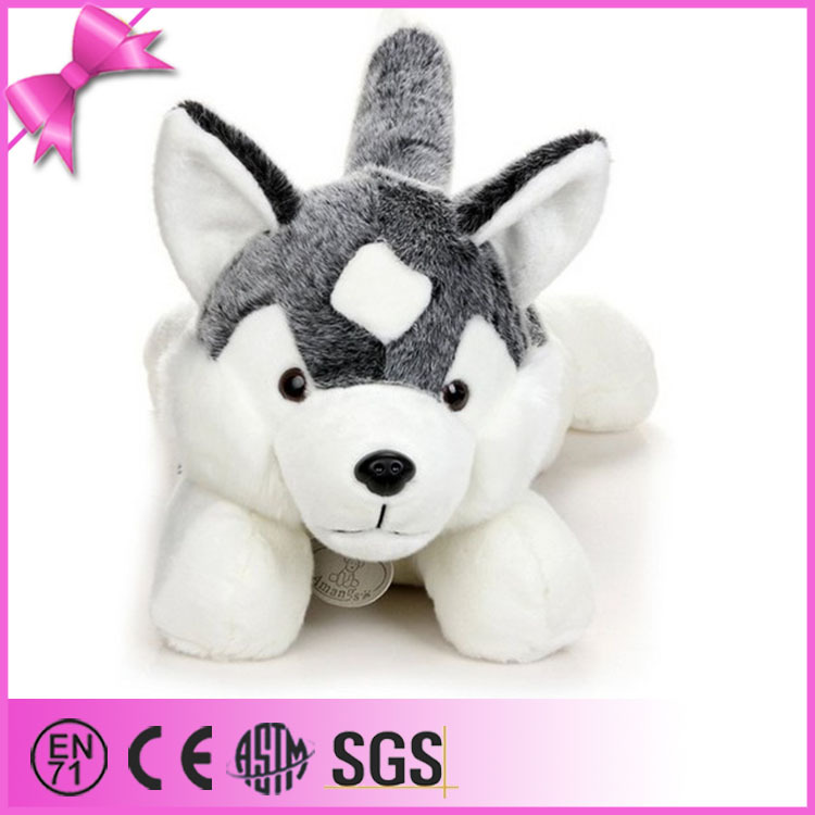 Chinese Toy Manufacturers Stuffed Plush Animal Toy Wolf Black Wolf ...