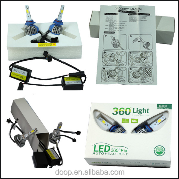 China Hot 2600lm Ip68 Auto Head Light Bulbs H4 H1 H7 H11 9005 9006 ...