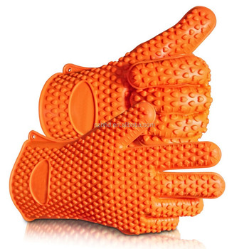 Bpa Free Heat Resistant Fda Approved Kitchen Silicone Glove - Buy ...