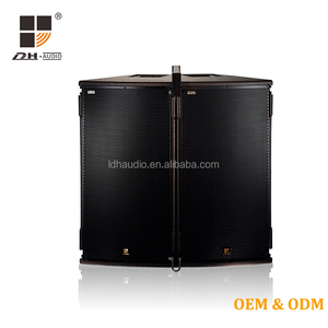 LDH Pro audio sound system 15inch Line array concert stage speakers with Original RCF driver unit