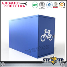Public Furniture Metal BIcycle Storage Locker/Bike Cabinets for Sale