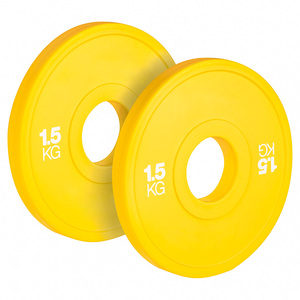 top selling full gym equipment commercial weight 100% rubber bumper plates 10kg
