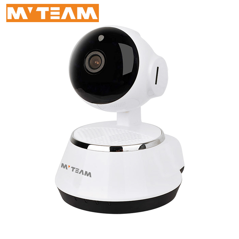 Factory New Intelligent Home Security Mini HD Robot Wifi IP Camera Cloud Real time Monitoring