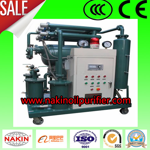 series zy high efficiency vacuum transformer oil purifier/isulating oil filter