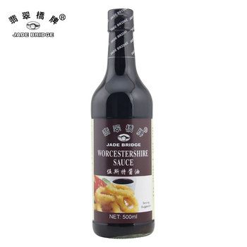 Chinese Manufacturer 500ml Worcester sauce spicy soy sauce
