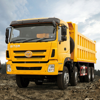 High Quality made in China heavy duty volume sand tipper dump truck for sale in botswana