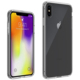 Wholesale PC TPU Fusion Hybrid Shockproof Clear Hard Case Cover for iPhone XS Max