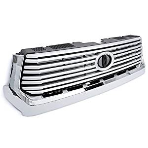 Toyota Tundra 14-16 Platinum Limited Style Front Center Grille Chrome