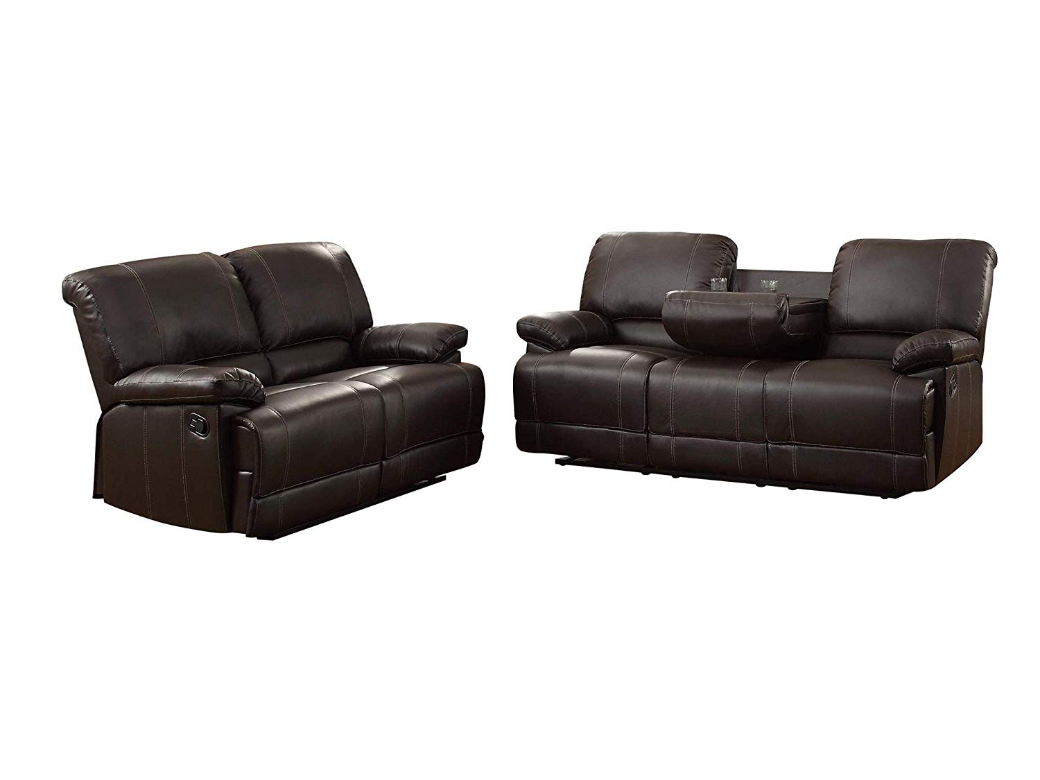 Outstanding Cheap Brown Leather Reclining Sofa Find Brown Leather Interior Design Ideas Pimpapslepicentreinfo