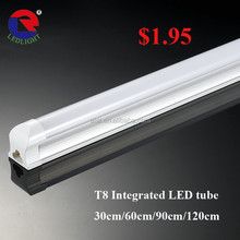 Epistar SMD2835 Integrated Led tube light T8 1500mm ,120LM/W 5ft T8 led tube light integration