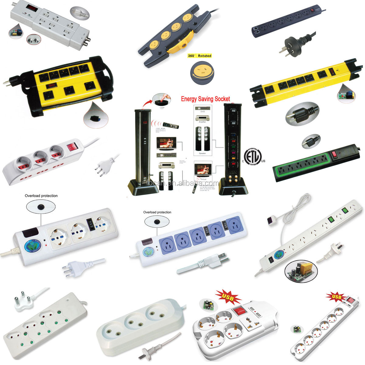 Korea POWER strip / Korea power board