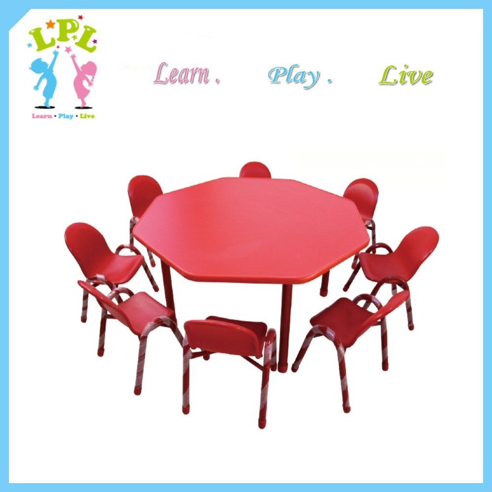 Commercial School Furniture Type And School Plastic Table And Chair For Kids Buy School