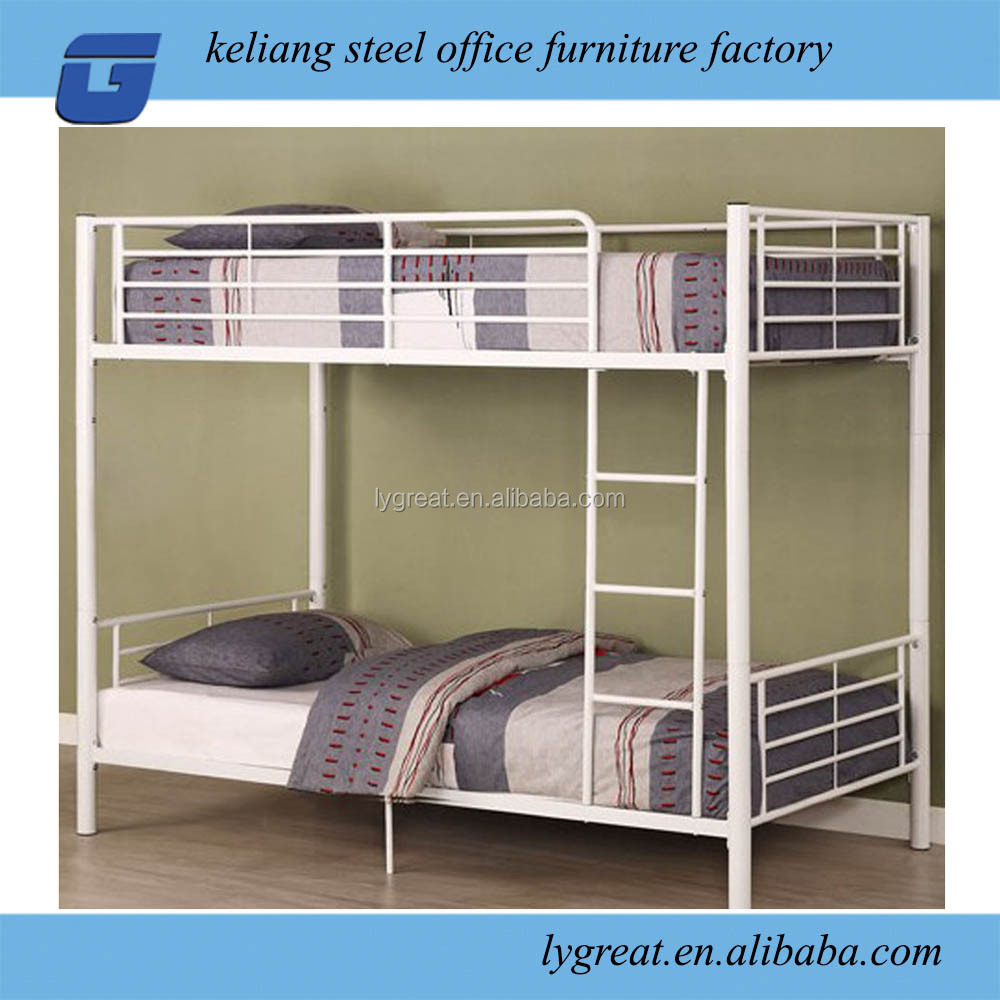 Steel double deck bed - Factory Supply Strong Double Deck Metal Bed For Universty Buy Strong Double Deck Metal Bed Double Deck Metal Bed Deck Metal Bed Product On Alibaba Com