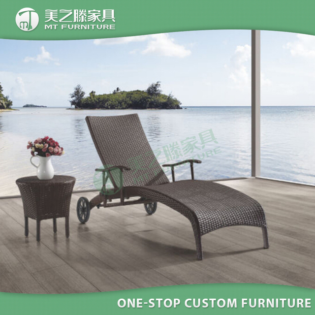 High quality hotel furniture rattan outdoor no folding beach chair with  wheels - Buy Cheap China Hotel Beach Furniture Products, Find China Hotel