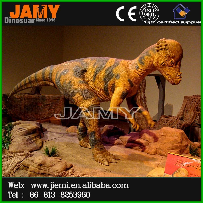 Real vivid dinosaur cartoon for performe