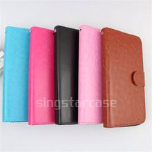 wholesale cell phone cover wallet with card slots stand flip case for M4 Tel Sense SS1070