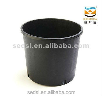 Plastic Plant Pots Wholesaleblack Flower Potblack 10 Gallon