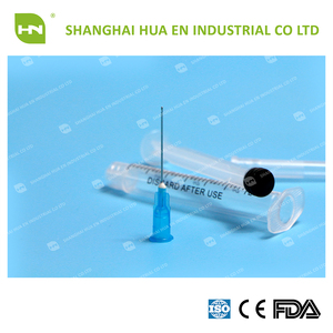 Disposable dental irrigation needle