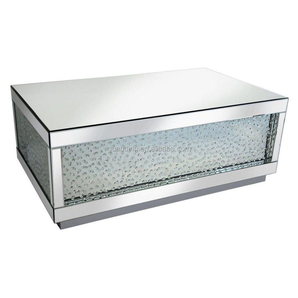 Newest Mirrored FurnitureProfessional Manufacture Crystal Mirror Coffee Table